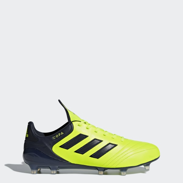 buy popular 3d9fa e96fd Calzado de Fútbol Copa 17.1 Terreno Firme SOLAR YELLOW LEGEND INK F17 SEMI  SOLAR