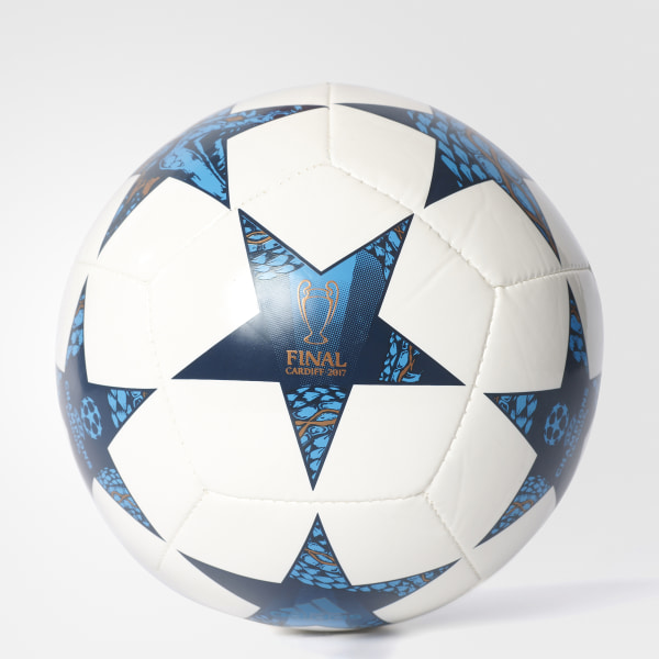Mini Bola Final Champions League WHITE MYSTERY BLUE CYAN AZ9608 ffbb13ebf4248
