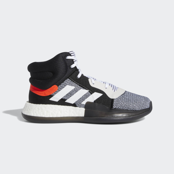 huge selection of ec4f5 a8f71 Marquee Boost Shoes Cloud White   Core Black   Solar Red BB9318