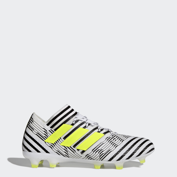Zapatos de Fútbol Nemeziz 17.1 Terreno Firme FTWR WHITE SOLAR YELLOW CORE  BLACK BB6075 c75b7296b1152