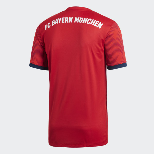 FC Bayern Home Jersey Fcb True Red   Strong Red   White CF5433 b79618fc9