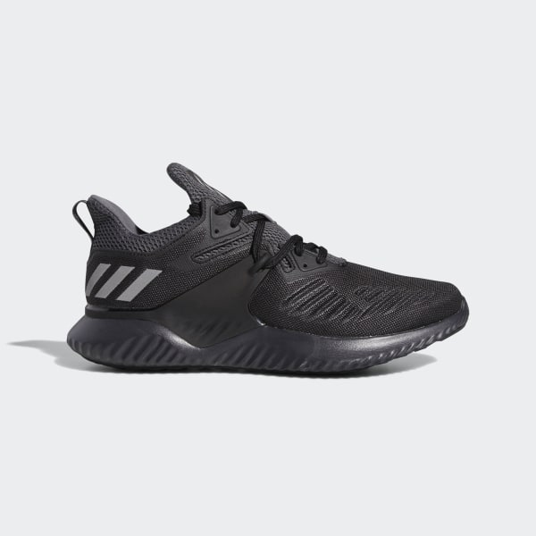 47519abefdc8c1 Alphabounce Beyond Shoes Core Black   Silver Metallic   Carbon BB7568