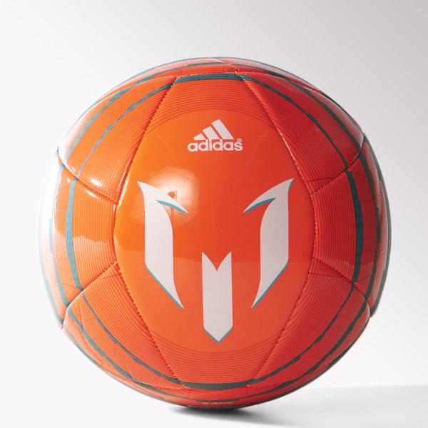 Pelota de Fútbol Messi 10 Glider SOLAR ORANGE   BOLD ORANGE   POWER TEAL  M36935 61e0ec2c3ec8a