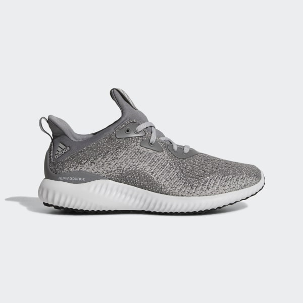 10a02e17fc23 Alphabounce 1 Shoes Grey   Grey   Core Black AC6919