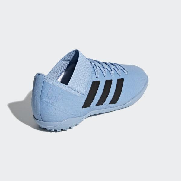 4ea074900e4d Nemeziz Messi Tango 18.3 Turf Shoes Ash Blue   Core Black   Gold Metallic  DB2395