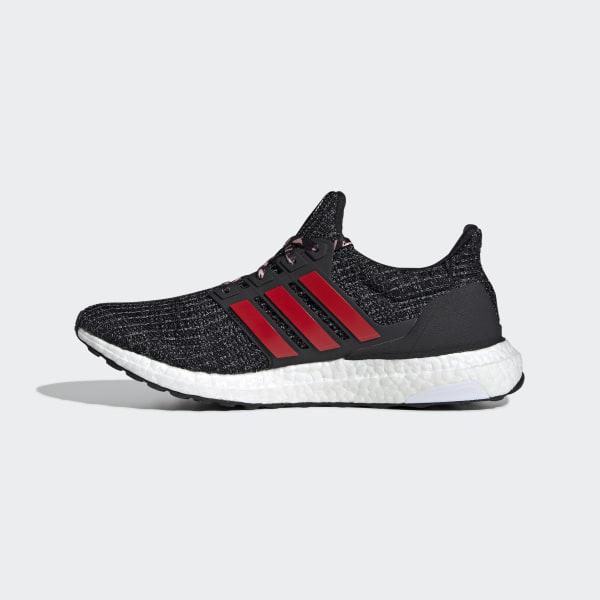 f8eae6e056a5e Ultraboost Shoes Core Black   Scarlet   Grey Three F35231