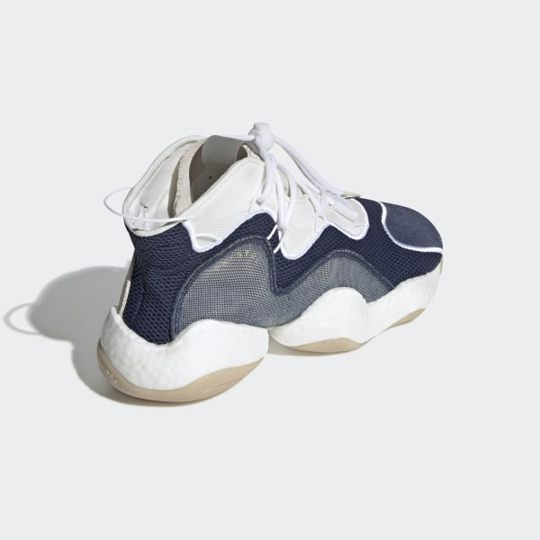new product 059e9 d612b Bristol Crazy BYW LVL I Shoes Collegiate Navy  Running White  Cloud White  BB7669