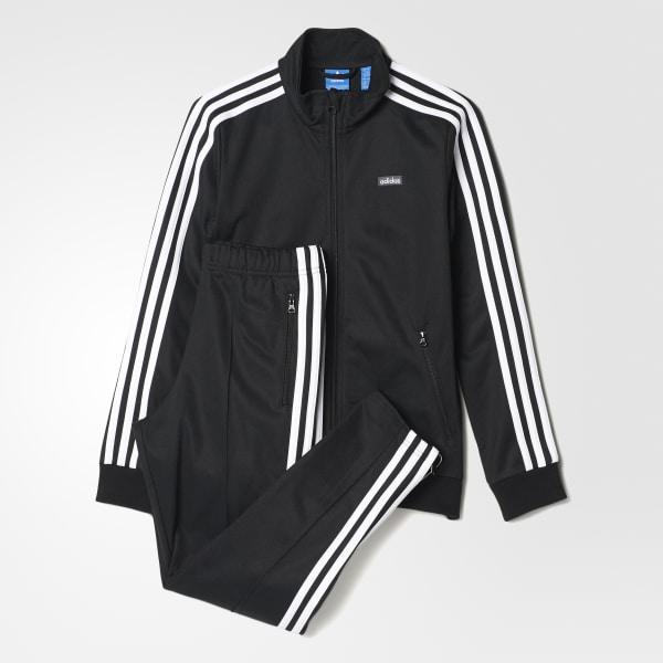 90ebcc7f90c4a adidas Pants y Chamarra Beckenbauer Originals Junior - Negro ...