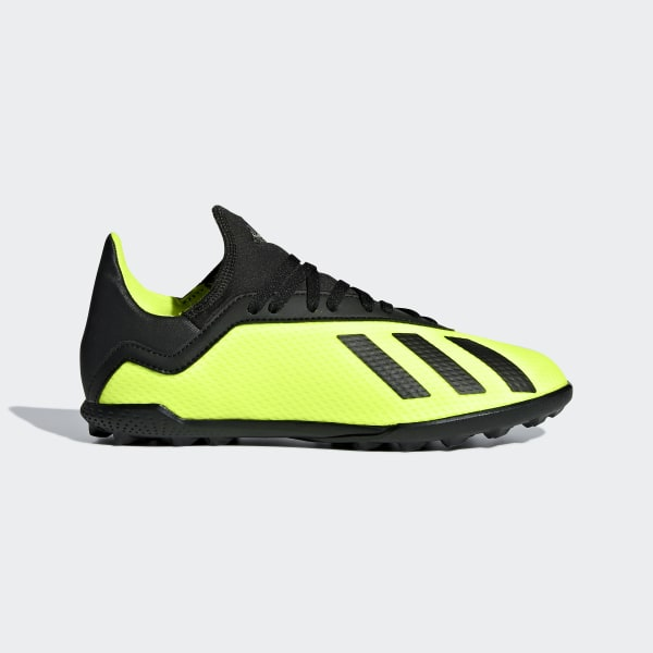 buy online 1ebfe 51e59 X Tango 18.3 Turf Cleats Solar Yellow  Core Black  Solar Yellow DB2423