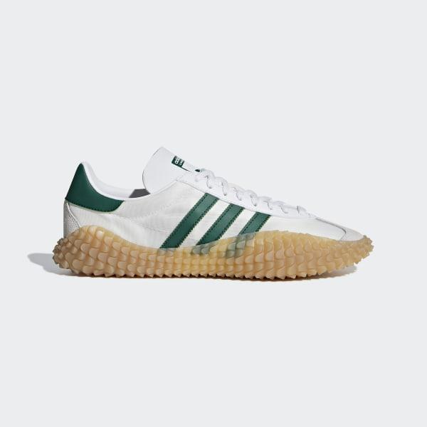 check out 27448 8014e Country x Kamanda Shoes Cloud White  Collegiate Green  Gum 3 G26797