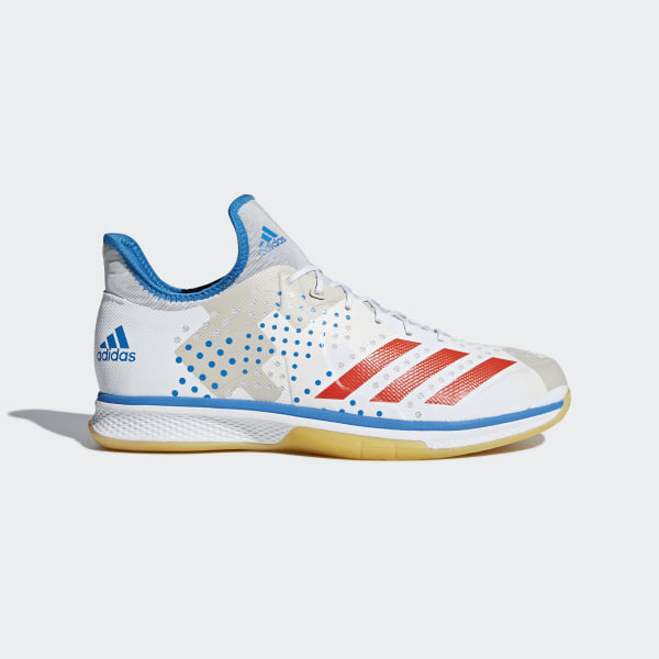 release date 3a930 ad73c Chaussure Counterblast Bounce Ftwr White  Solar Red  Bright Blue CM7735