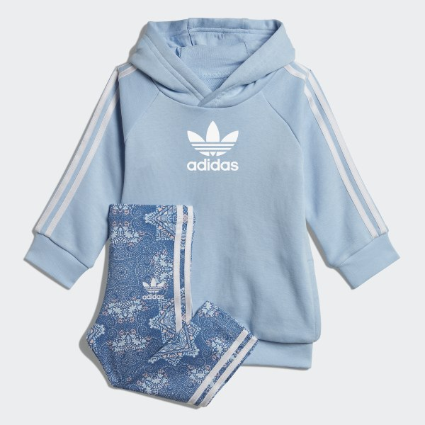 4040dae16 adidas Culture Clash Hoodie Set - Blue