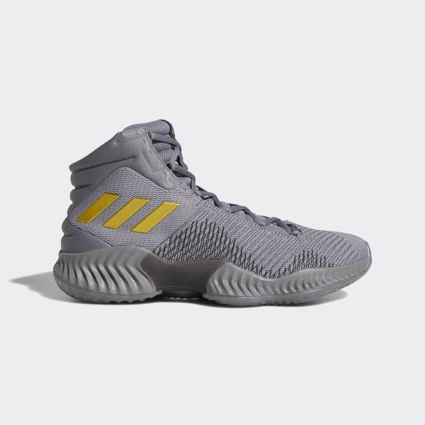 Pro Bounce 2018 Shoes Grey Three   Gold Met.   Core Black AH2656 972f803e2b87