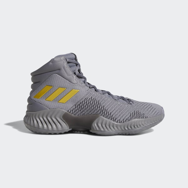 official photos cfe9e 59c0b Tenis Pro Bounce 2018 GREY THREE F17 GOLD MET. CORE BLACK AH2656
