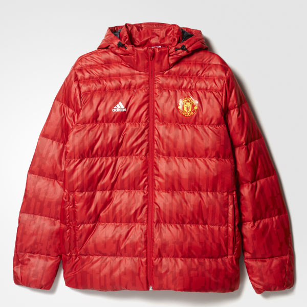 4a28d8efe adidas Manchester United FC Down Jacket - Red