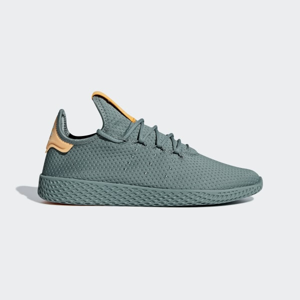 Pharrell Williams Tennis Hu Shoes Raw Green   Raw Green   Off White B41808 c5b130ed0