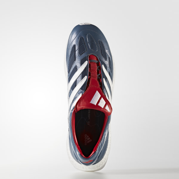 503b29c1b7e0c9 Predator Precision Ultra Boost Shoes Blue Grey   Cloud White   Collegiate  Red CM7913