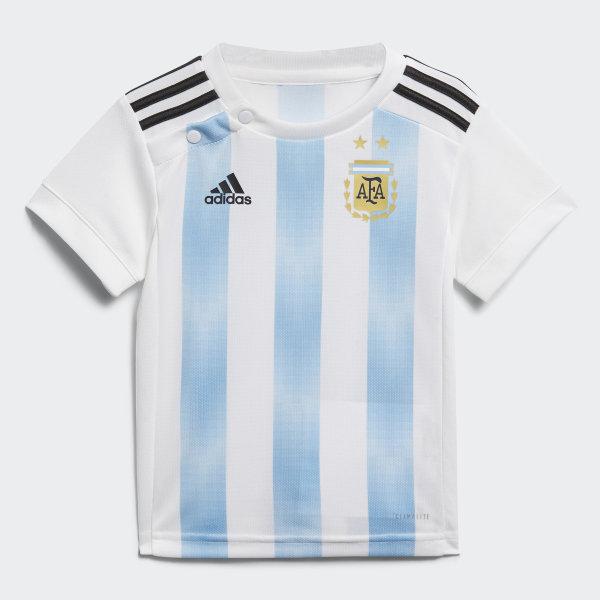 Mini Conjunto Titular Selección Argentina 2018 WHITE CLEAR BLUE BLACK  BLACK CLEAR BLUE 15cf00e5eb1e7