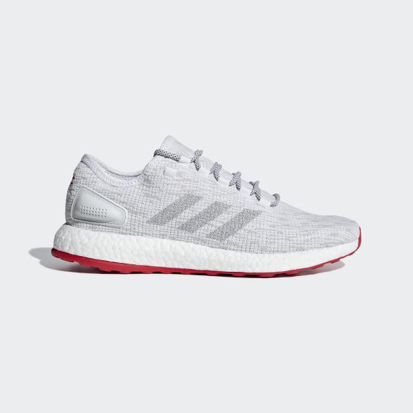 85cbf843f90 PureBOOST LTD Shoes Ftwr White   Grey Two   Scarlet CM8333