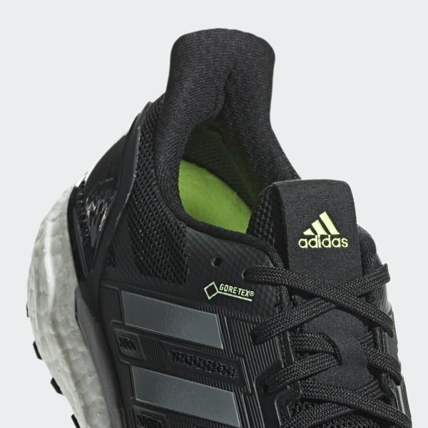 fa677caf8 Supernova Gore-Tex Shoes Core Black   Grey Three   Hi-Res Yellow B96282