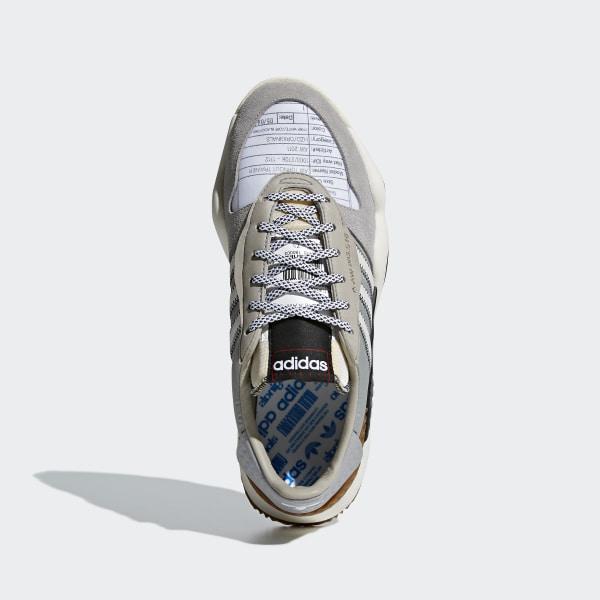08311bb08af adidas Originals by Alexander Wang Turnout Trainer Shoes Light Grey  Chalk  White Core Black