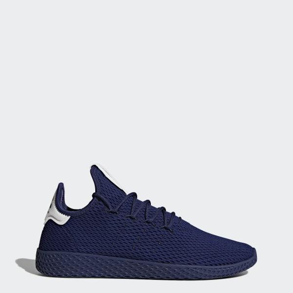 fecc2a204 Men s Pharrell Williams Tennis Hu Shoes Dark Blue Dark Blue Footwear White  BY8719