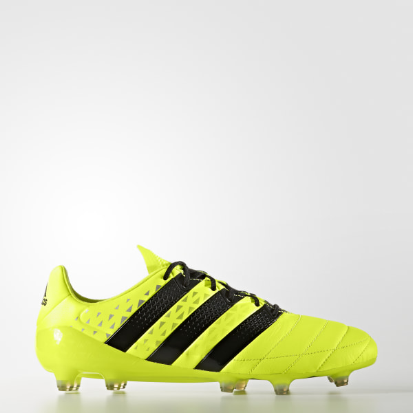ACE 16.1 FG Leather SOLAR YELLOW CORE BLACK SILVER MET. S79684 42f7eb1cf20b5
