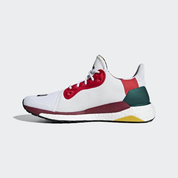 353f2d5acdcdd Pharrell Williams x adidas Solar Hu Glide Shoes Cloud White   Core Black    Bold Green