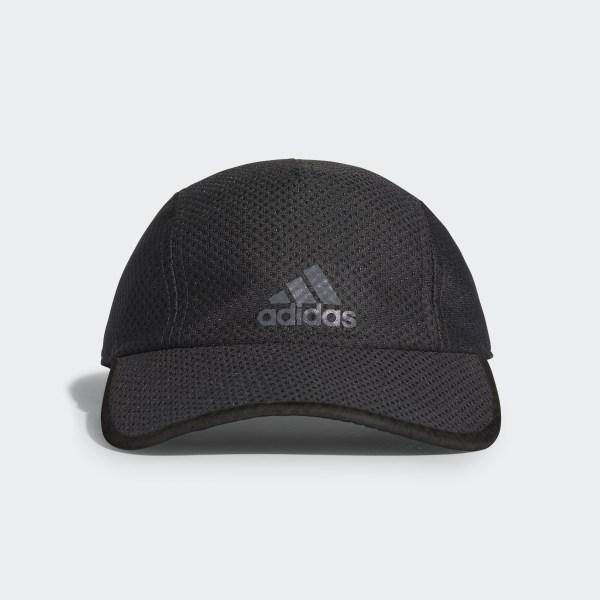 a10e7255b66 Climacool Running Cap Black   Black   Black Reflective CF9628