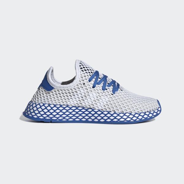 50a0a54555e Deerupt Runner Shoes Ftwr White   True Blue   Legend Marine DB2779
