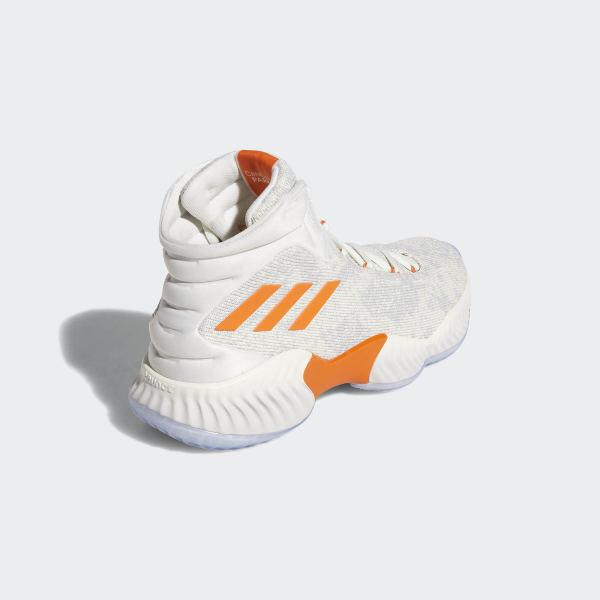 438c3bdf98e9e Candace Parker Pro Bounce 18 Shoes Off White   Orange   Running White F97243