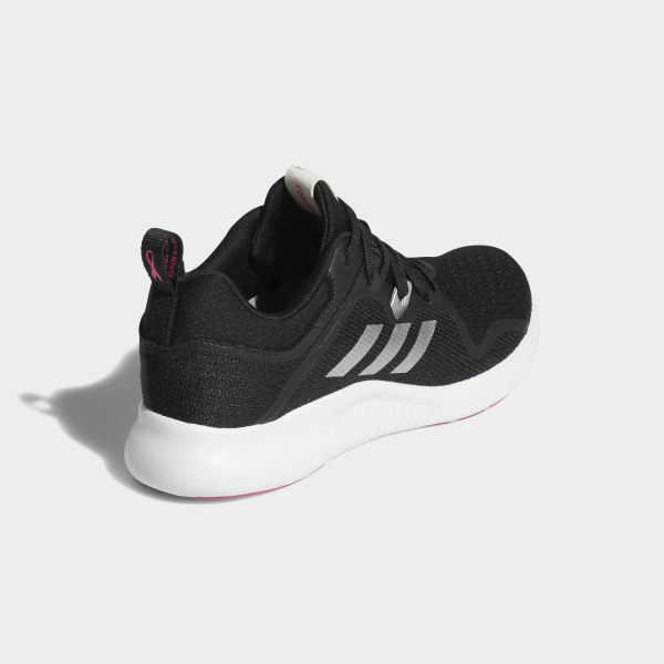 aca2af8e7 Edgebounce Shoes Core Black   Silver Metallic   Shock Pink BB7563