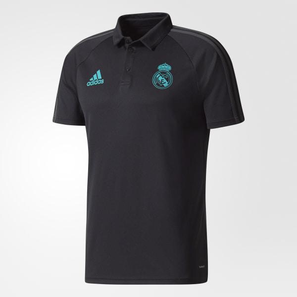 99e23b2d2ef4b adidas Camiseta Polo Real Madrid - Negro