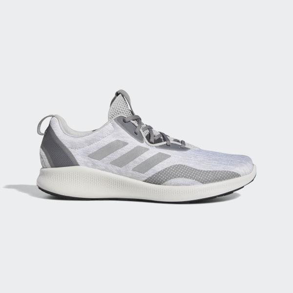 566e5de9197 Purebounce+ Street Shoes Grey   Silver Metallic   Carbon BC1037