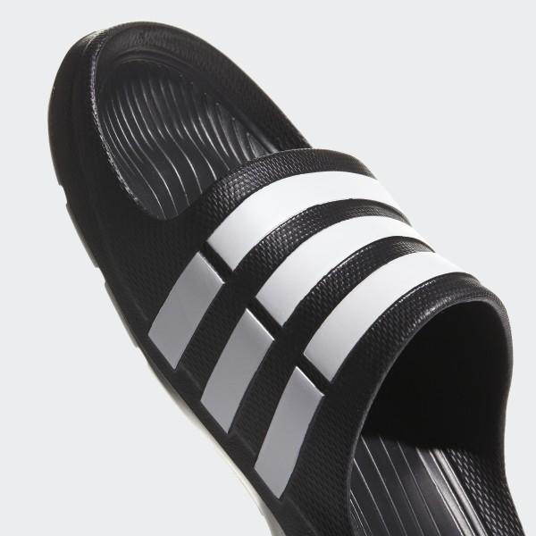 eaf103135 Duramo Slides Core Black   White   Core Black G15890