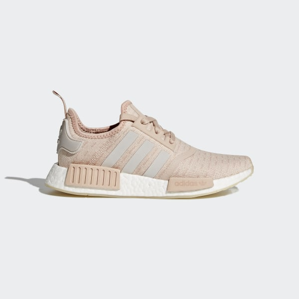 7529046f9 NMD R1 Shoes Ash Pearl   Chalk Pearl   Ftwr White CQ2012