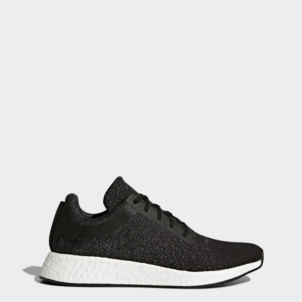63367e293ef adidas Men s wings + horns NMD R2 Primeknit Shoes - Black ...