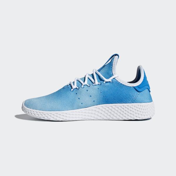 be87ce39b8bdd Pharrell Williams Tennis Hu Shoes Bright Blue   Cloud White   Cloud White  CQ2300