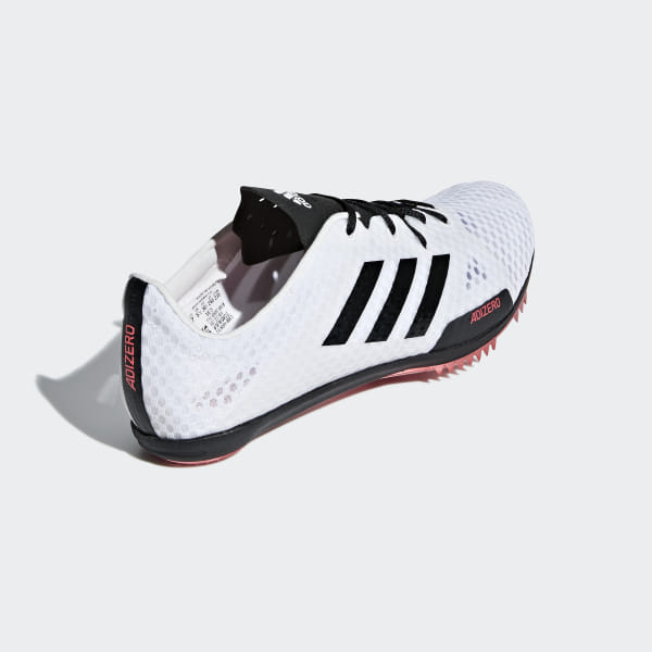 new product a44ed 475b8 Adizero Ambition 4 Spikes Cloud White   Core Black   Shock Red B37484