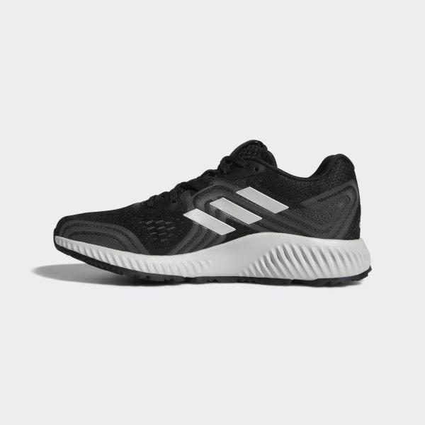 hot sale online 5ce25 f9a20 Aerobounce 2 Shoes Core Black  Silver Metallic  Grey AQ0542