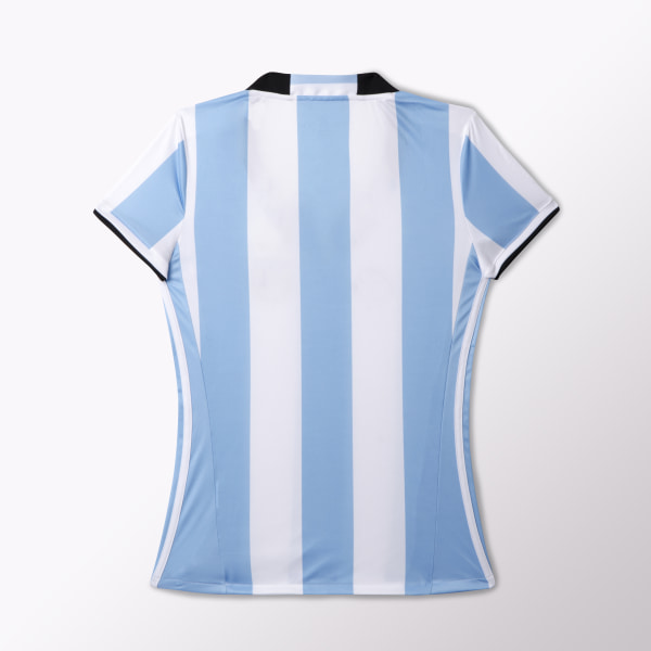 85a227c405165 Camiseta Titular Selección Argentina Mujer CLEAR BLUE   WHITE   BLACK AH4987