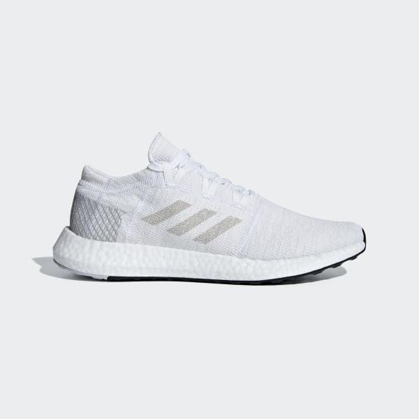 95a91dda2cf7d PureBOOST GO Shoes Ftwr White   Grey One   Grey Two AH2311