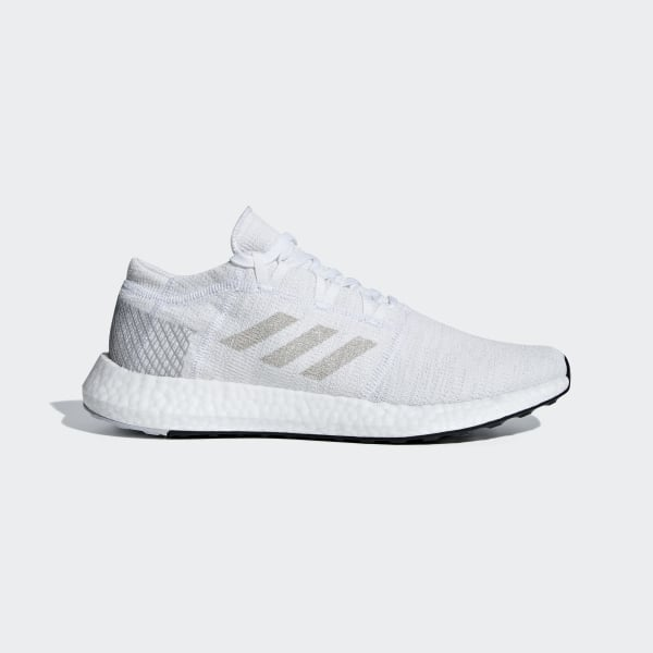 PureBOOST Go Schuh Ftwr White   Grey One   Grey Two AH2311 f5a4dd628f