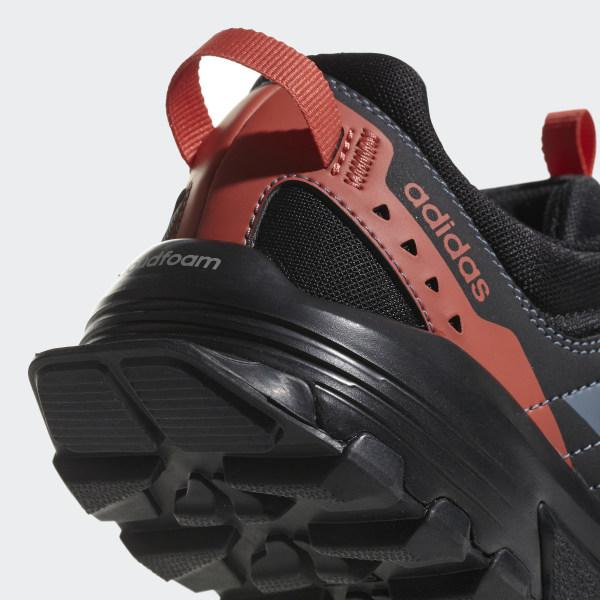17e111d45a292 Rockadia Trail Shoes Carbon   Raw Steel   Trace Scarlet CG3984