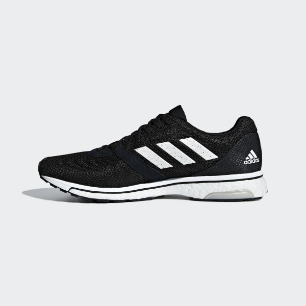 320930dc280 Adizero Adios 4 Shoes Core Black   Cloud White   Core Black B37312