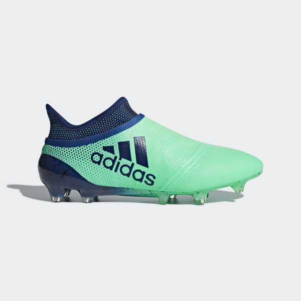 adidas X 17+ Purespeed Firm Ground Cleats - Green  7d7baadbe3df