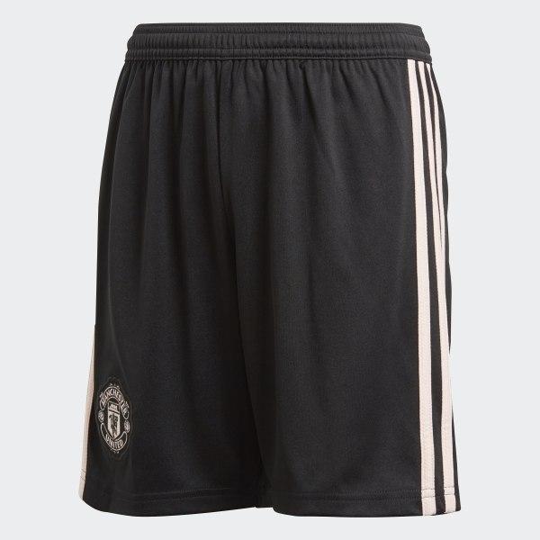 Pantalón corto segunda equipación Manchester United Black   Icey Pink CG0064 6e8a4e87674bf
