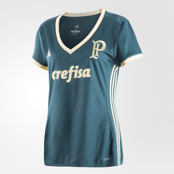 2fc4bb588e Camisa Palmeiras 3 Feminina MYSTERY GREEN S17 EASY YELLOW S17 BK1354
