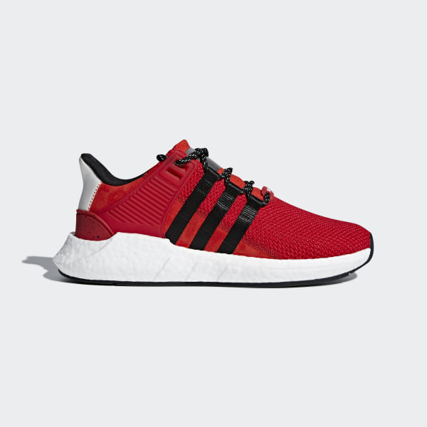 EQT Support 93 17 Shoes Scarlet   Core Black   Grey CQ2398 2983a7e210