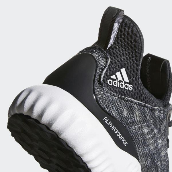 27af91158 Alphabounce Space Dye Shoes Core Black   Cloud White   Carbon CQ0777